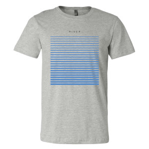 River T-Shirt - Grey