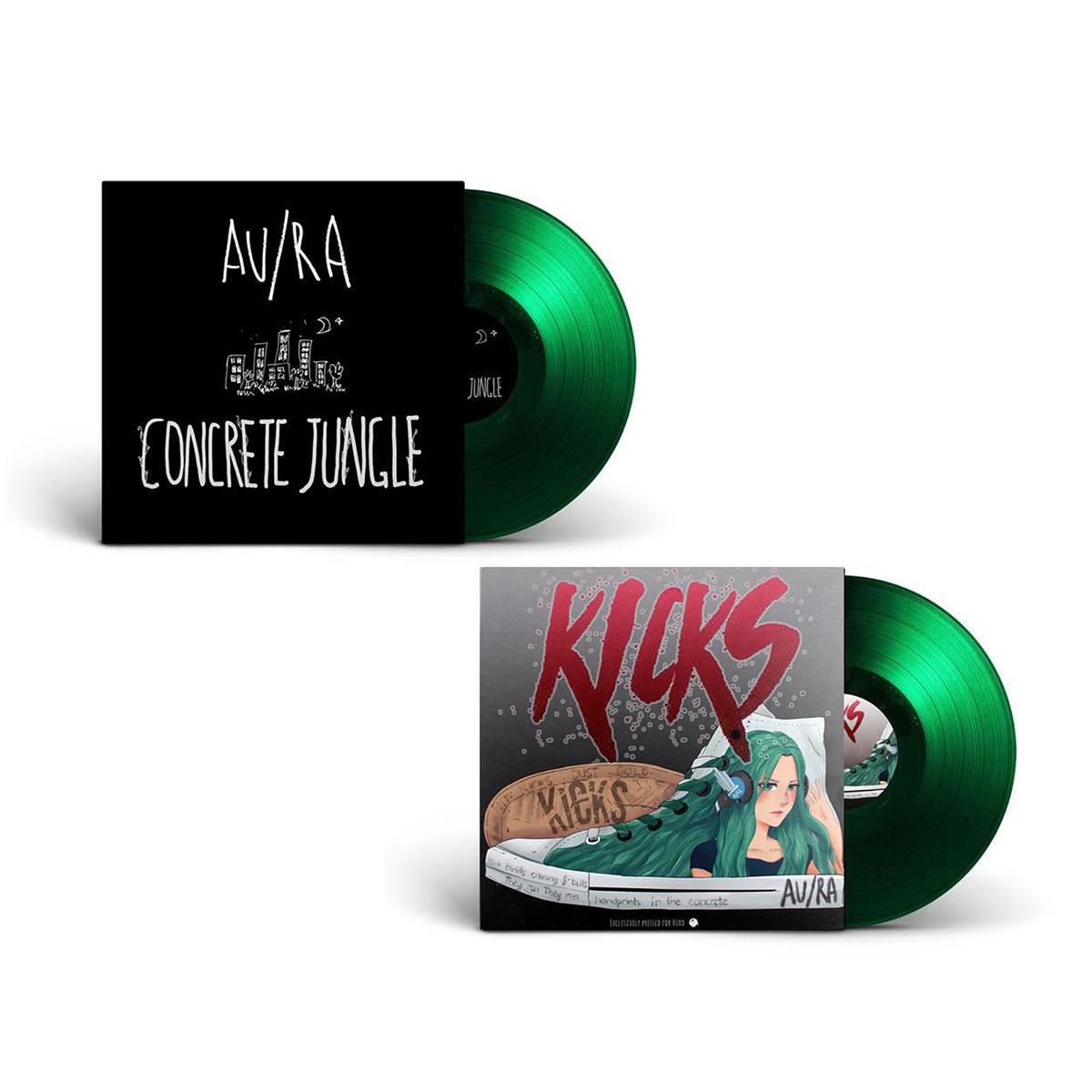 "Au/Ra Concrete Jungle/Kicks 7"" Vinyl"