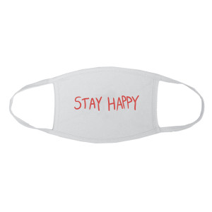 Aura Stay Happy White Mask