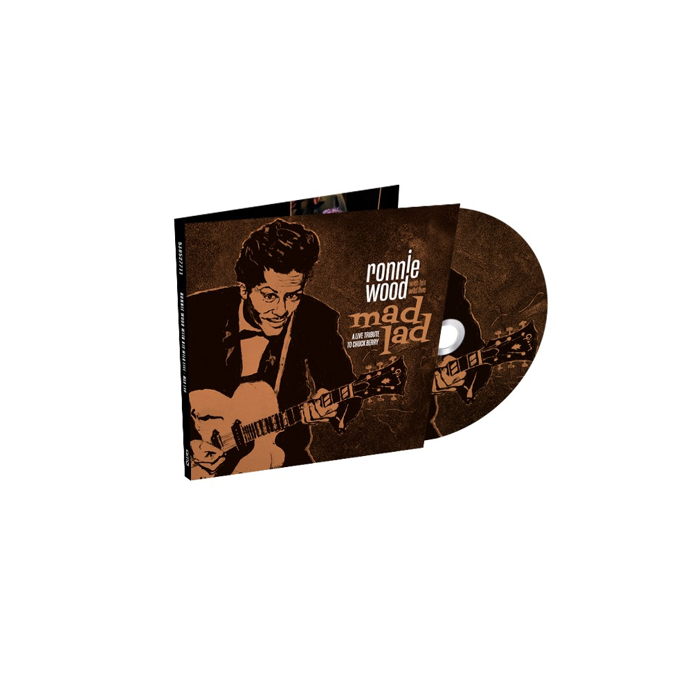 Ronnie Wood & His Wild Five - Mad Lad: A Live Tribute to Chuck Berry CD
