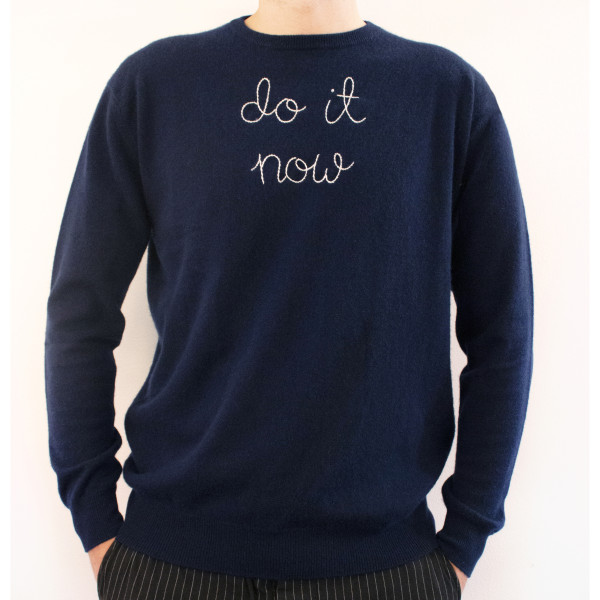 Do It Now Lingua Franca Jumper