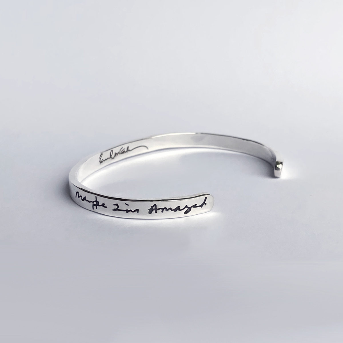 Maybe I'm Amazed Women's ID Silver Bracelet