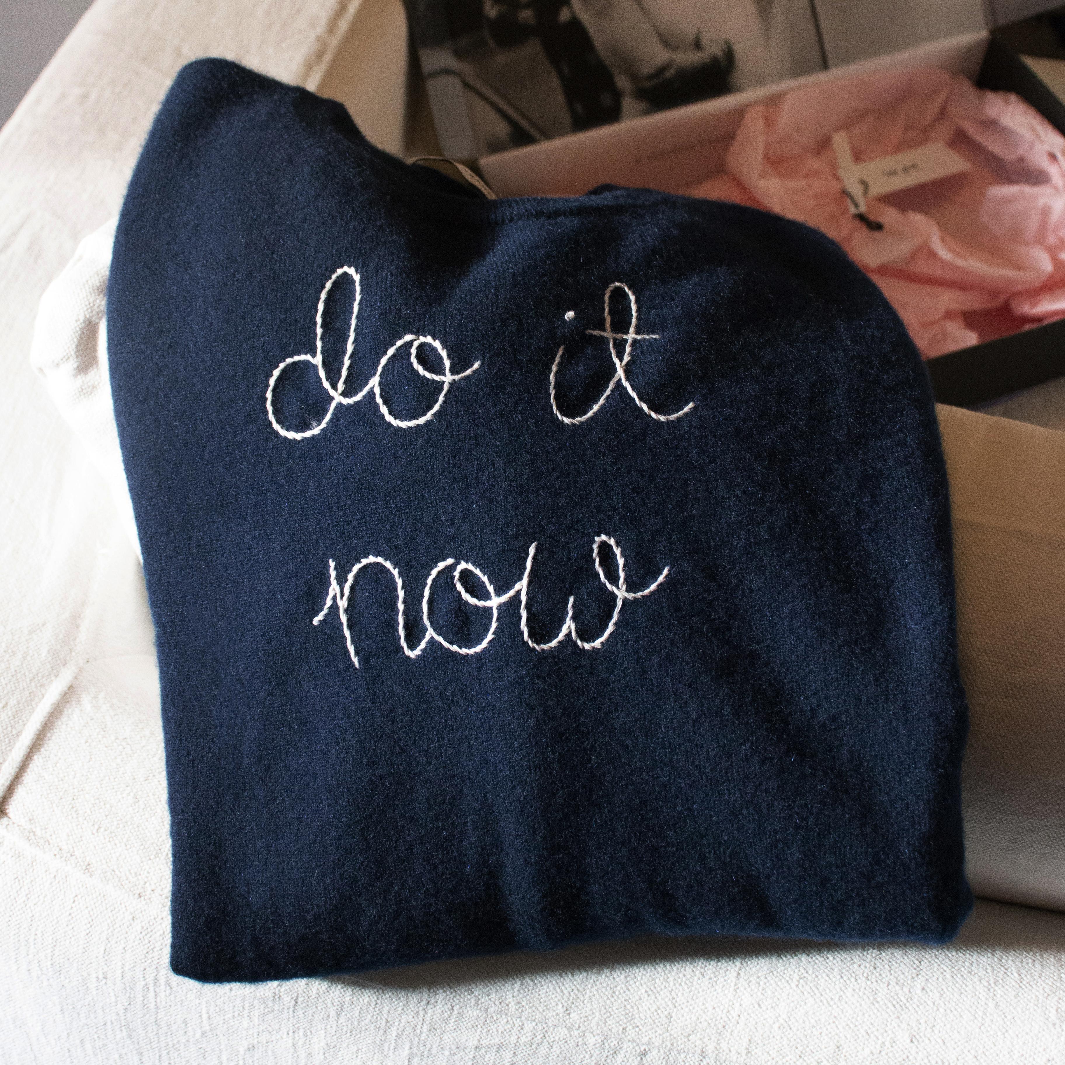 Do It Now Lingua Franca Jumper