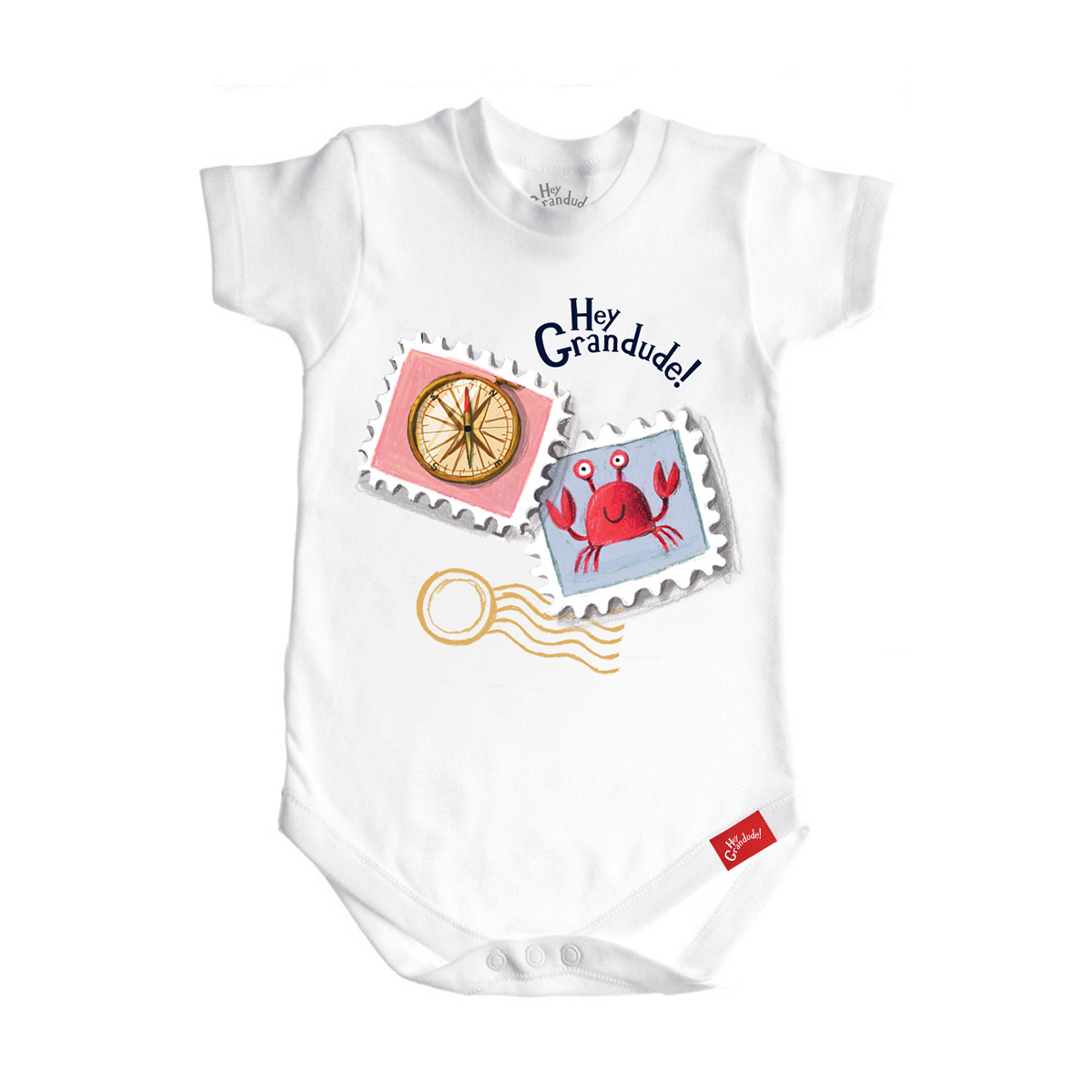Hey Grandude! Infant Onesie