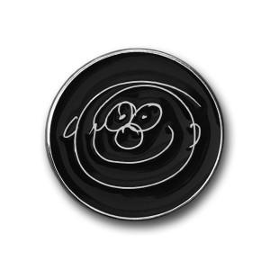 Smiley Face Metal Pin Badge