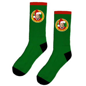 Green Christmas Socks