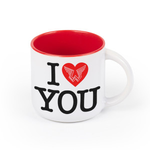 Wings Heart Mug