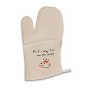 Flaming Pie Oven Mitt