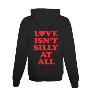 Silly Love Songs Black Zip Hoodie