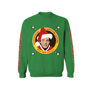 Wonderful Christmas Time Pattern Crewneck
