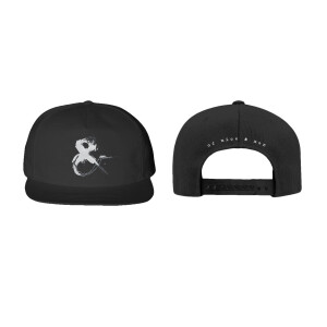 Ampersand Black Snapback Hat