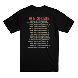Black Emblems Tour Tee