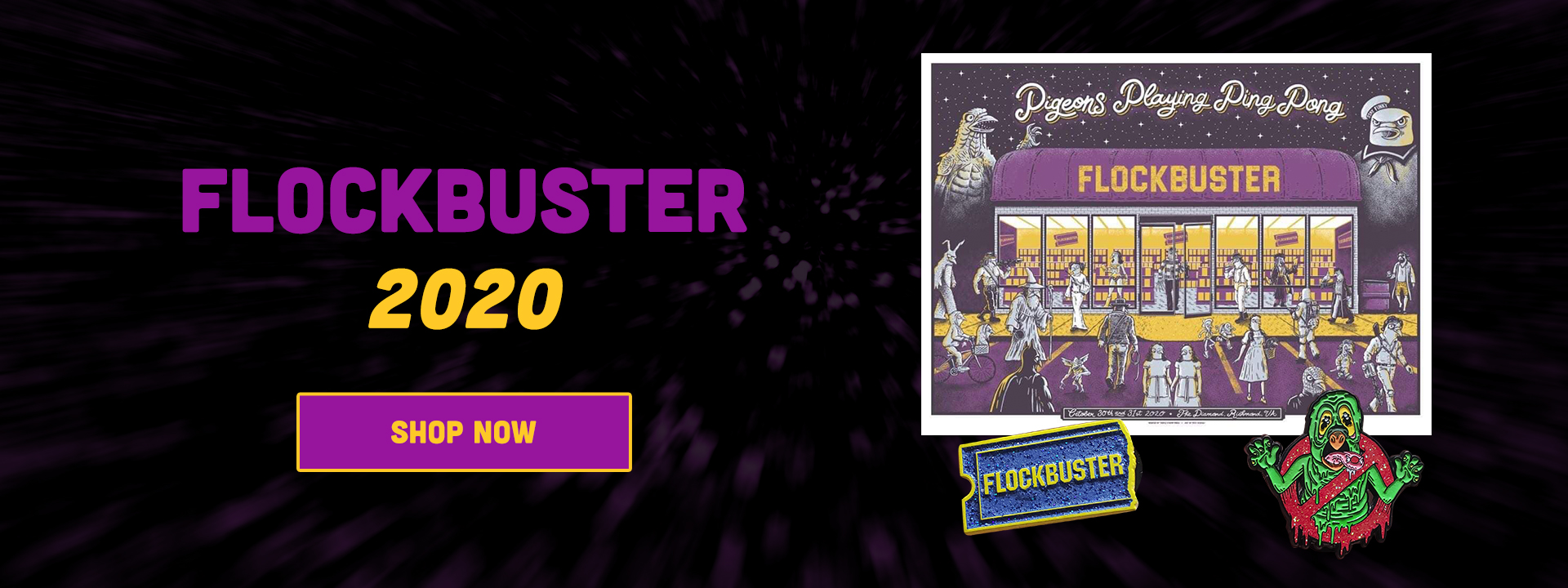 Flockbuster 2020 - New Merch - Pre-order Now