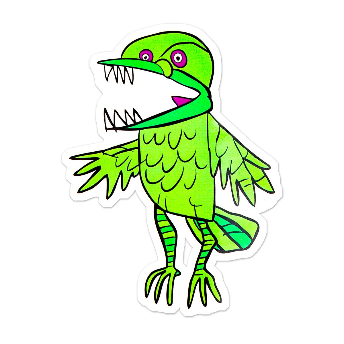 Flockie Sticker