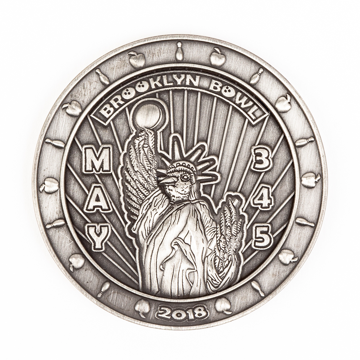2018 Brooklyn Bowl Commemorative Coin