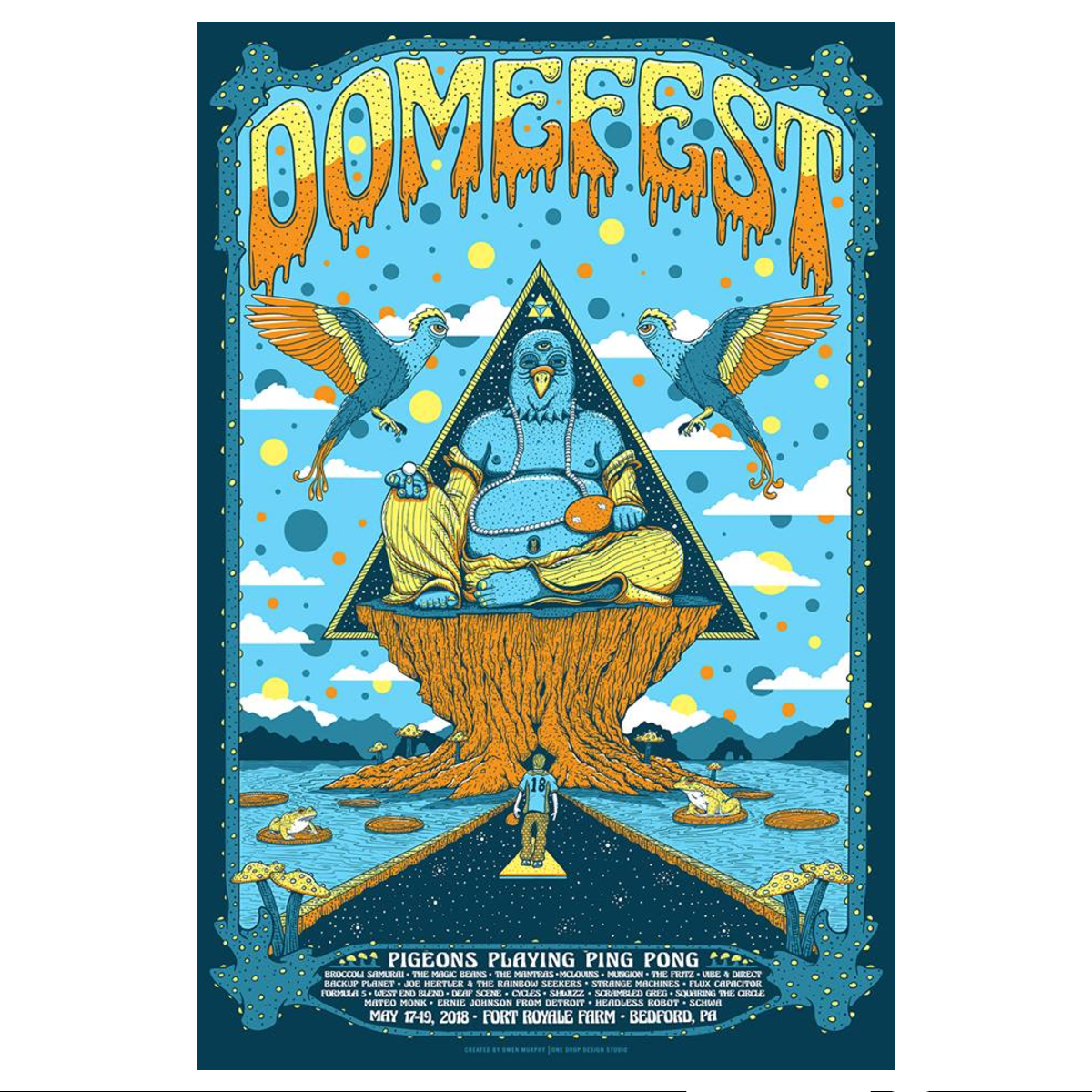 Domefest 2018 Poster