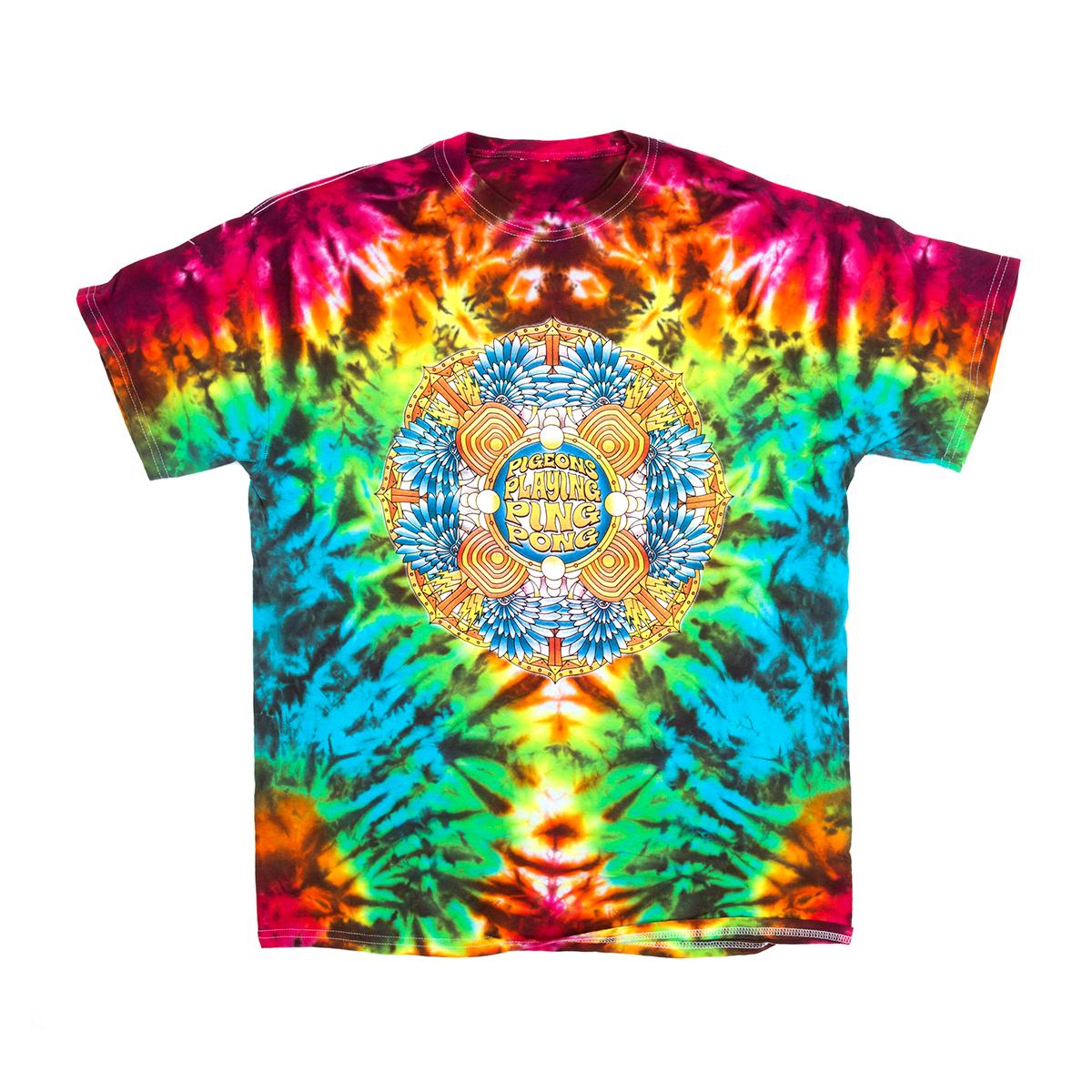 Mandala Rainbow Tie Dye T-shirt