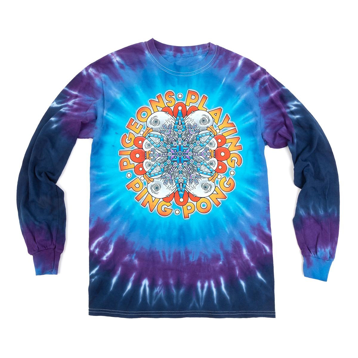 Long Sleeve Tie-dye T-shirt