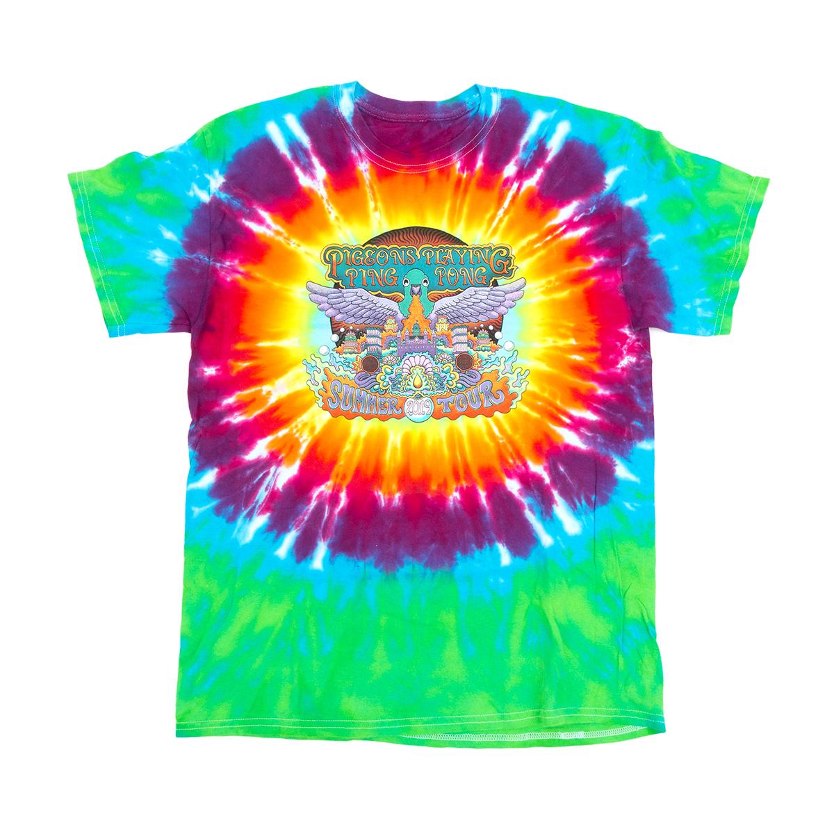 2019 Tie-dye Tour T-shirt