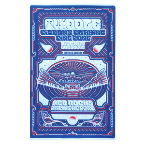 2019 VIP Red Rocks Poster