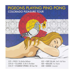 Colorado Pleasure Tour Poster