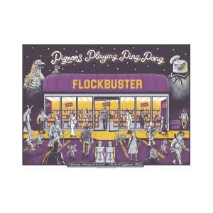 Flockbuster Poster