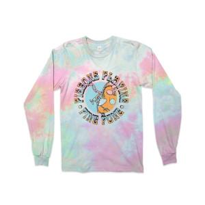Pigeon Skull Pastel Long Sleeve T-shirt