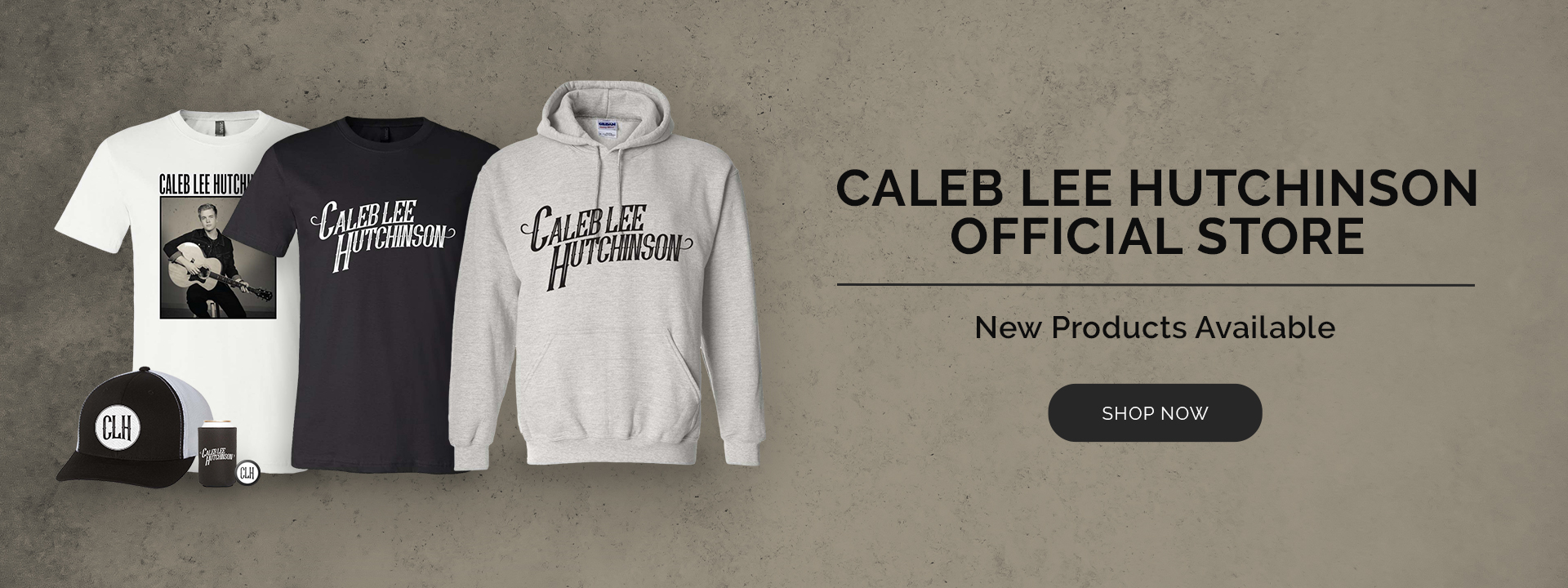 Caleb Lee Hutchinson New Products Available Now Shop Now