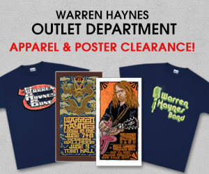 Warren Haynes Outlet