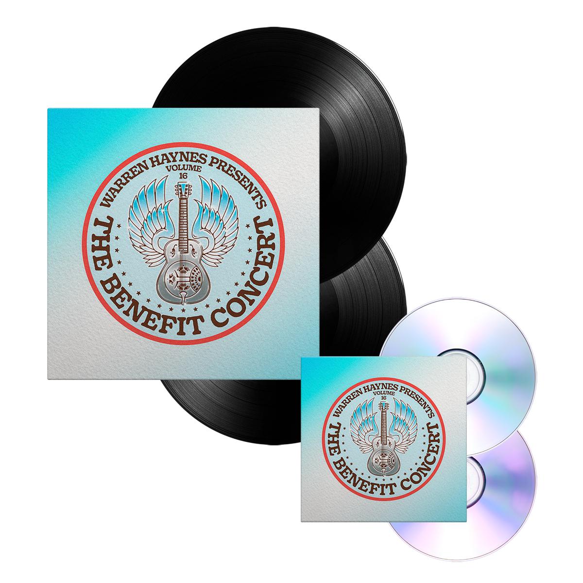 CD/DVD + Double Vinyl Bundle: The Benefit Concert  V. 16