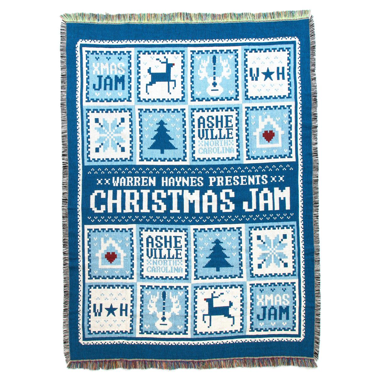 Warren Haynes Christmas Jam Throw Blanket