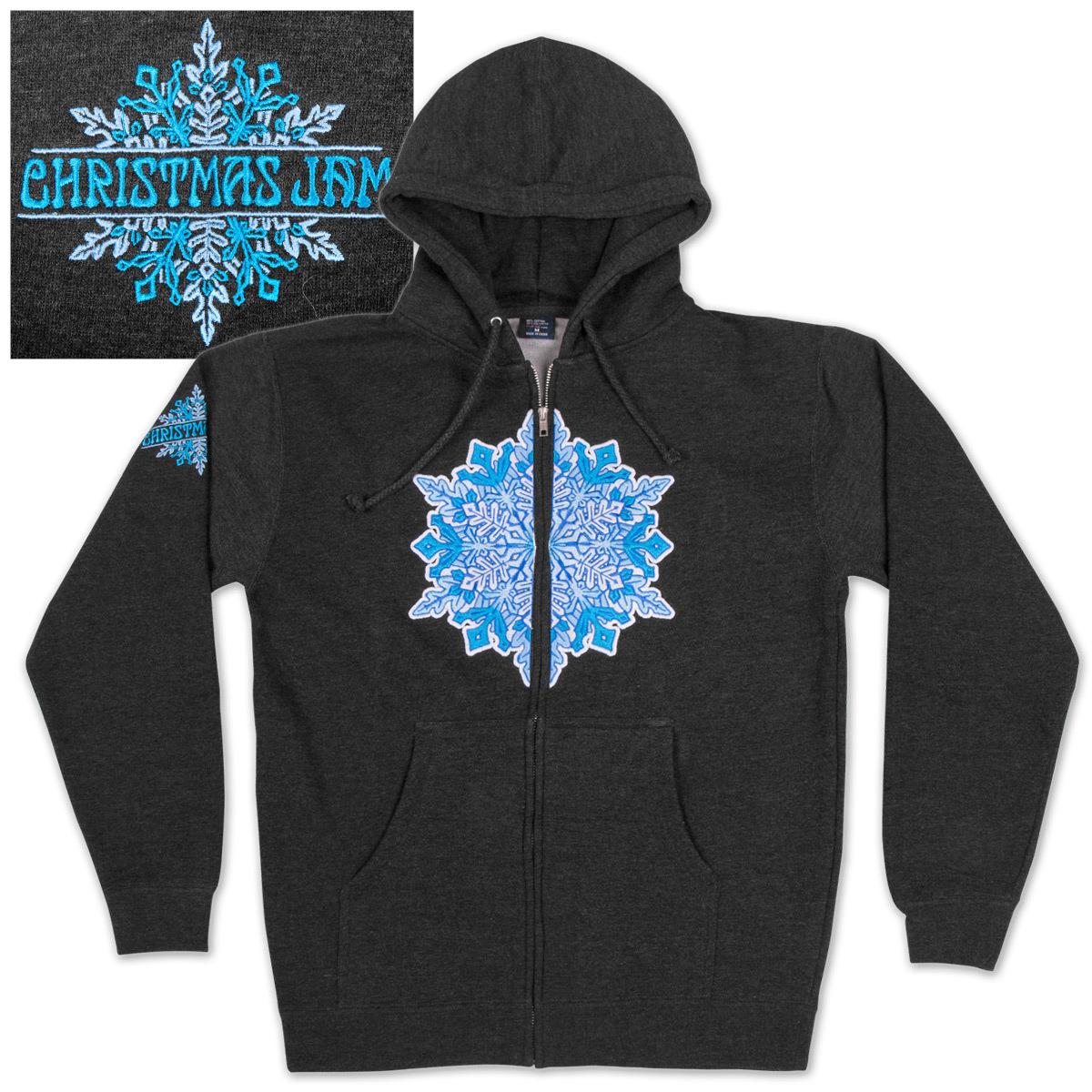 Warren Haynes 2012 Xmas Jam Zip-Up Sweatshirt