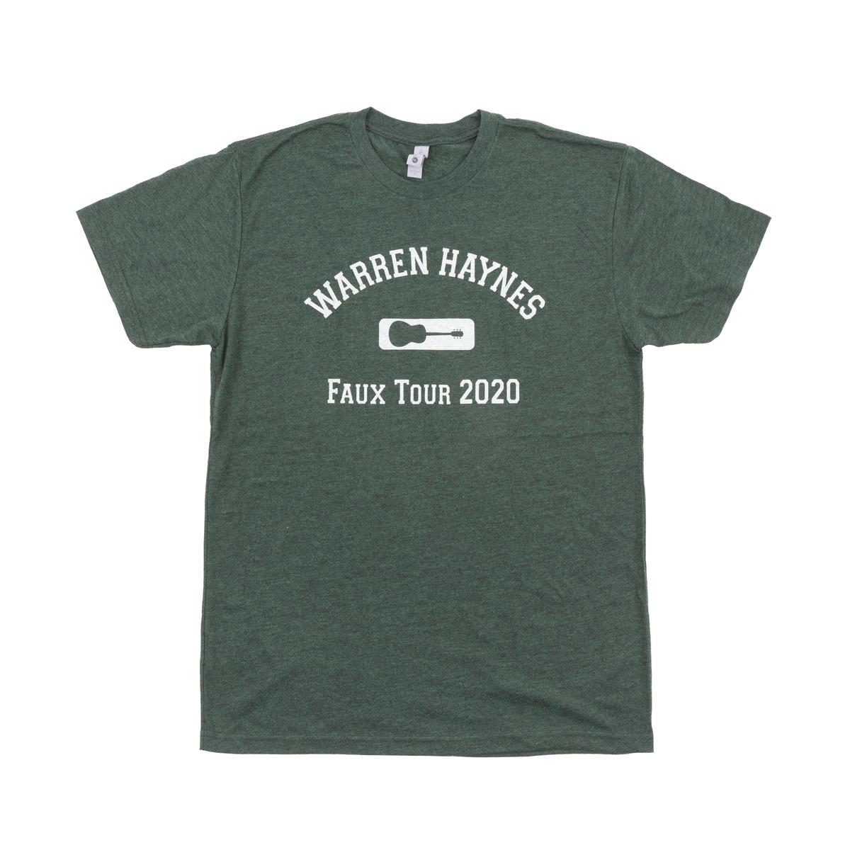 Faux Tour 2020 Guitar Logo T-Shirt
