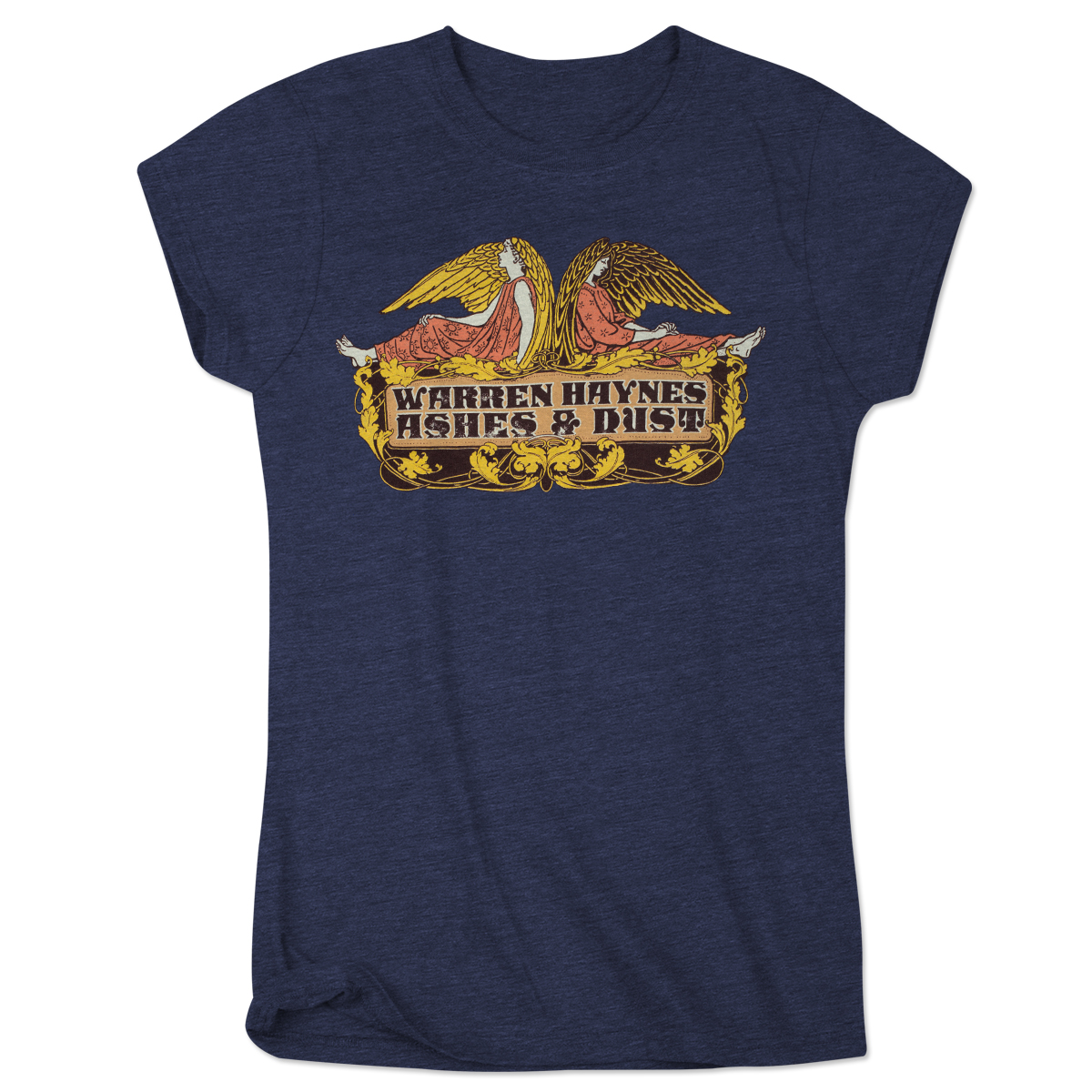Warren Haynes Wings Logo with Ashes & Dust Back Print