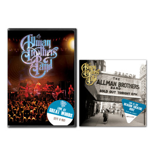 The Allman Brothers Band - Play All Night: Live At The Beacon Theater 1992 2-CD Set and Live At Great Woods DVD Bundle