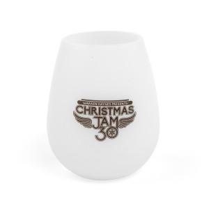 2018 Christmas Jam Squishy Silicone Wine Glass