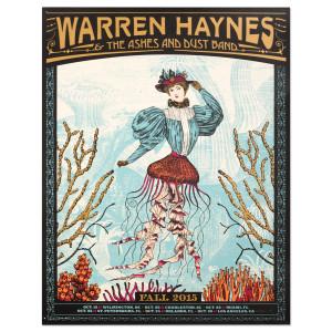 Warren Haynes Fall Tour 2015 Ocean Poster