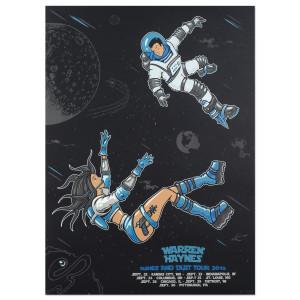 Warren Haynes Fall Tour 2015 Space Poster