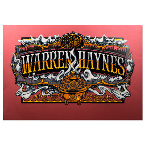 Warren Haynes Town Hall 2015 Poster