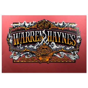 Warren Haynes Town Hall 2015 Poster