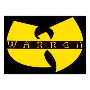 Warren Sticker