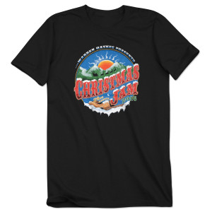 Warren Haynes 2016 Christmas Jam Mountain Sunset T-Shirt