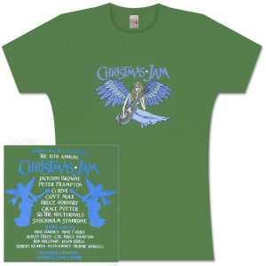 Warren Haynes 2007 Xmas Jam Ladies T-Shirt
