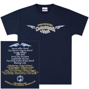 Warren Haynes 2010 Xmas Jam Wings T-Shirt