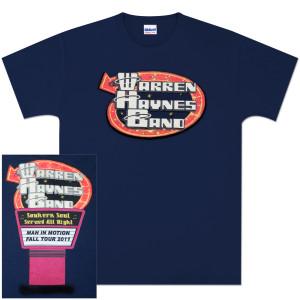 Warren Haynes Band  2011 Fall Tour T-Shirt