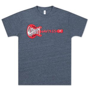 Warren Haynes Red Guitar Logo T-Shirt