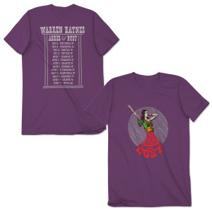 Warren Haynes 2015 Summer Tour Dancing Woman T-Shirt