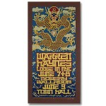 Warren Haynes 2004 Bowery Ballroom New York City Event Poster