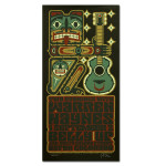 Warren Haynes 2008 Belly Up Tavern Aspen Event Poster