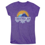 Warren Haynes 2016 Christmas Jam Women's Purple T-Shirt